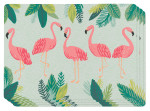 Flamingos Cork-backed Placemats <br> Set of 4