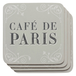 Cafe De Paris Coasters