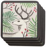 Noble Deer Coasters <br> Set of 4