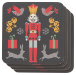 Nutcracker Coasters <br> Set of 4