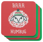 Baaa Humbug Coasters <br> Set of 4