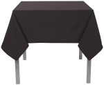 Black Renew Tablecloth <br> 55 x 55 inch