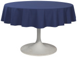 Indigo Renew Tablecloth <br> 60 inch round