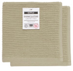 Sandstone Ripple Dishcloths <br> Set of 2