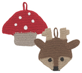 Tawashi Scrubbers - Rosie Reindeerl<br> Set of 2