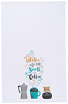 Wake Up Coffee Dishtowel