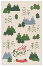 The Great Outdoors Dishtowel