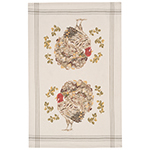 Holiday Turkey Dishtowel