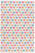 Sweet Hearts Dishtowel