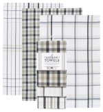 Slate & Sand Wilson Dishtowels <br> Set of 3