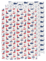 Ahoy Matey Baker's Floursacks <br> Set of 3