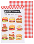 Burger Bonanza Dishtowel