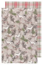 Noble Deer Dishtowels <br> Set of 2