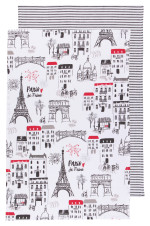 Paris Je T'Aime Dishtowels <br> Set of 2
