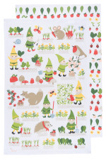 Gnome Sweet Gnome Dishtowels <br> Set of 2
