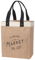To Market We Go Market Tote