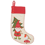 Gnome Sweet Gnome Stocking