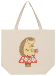 Happy Hedgehog Tote Bag