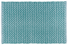 Teal Diamond Floormat