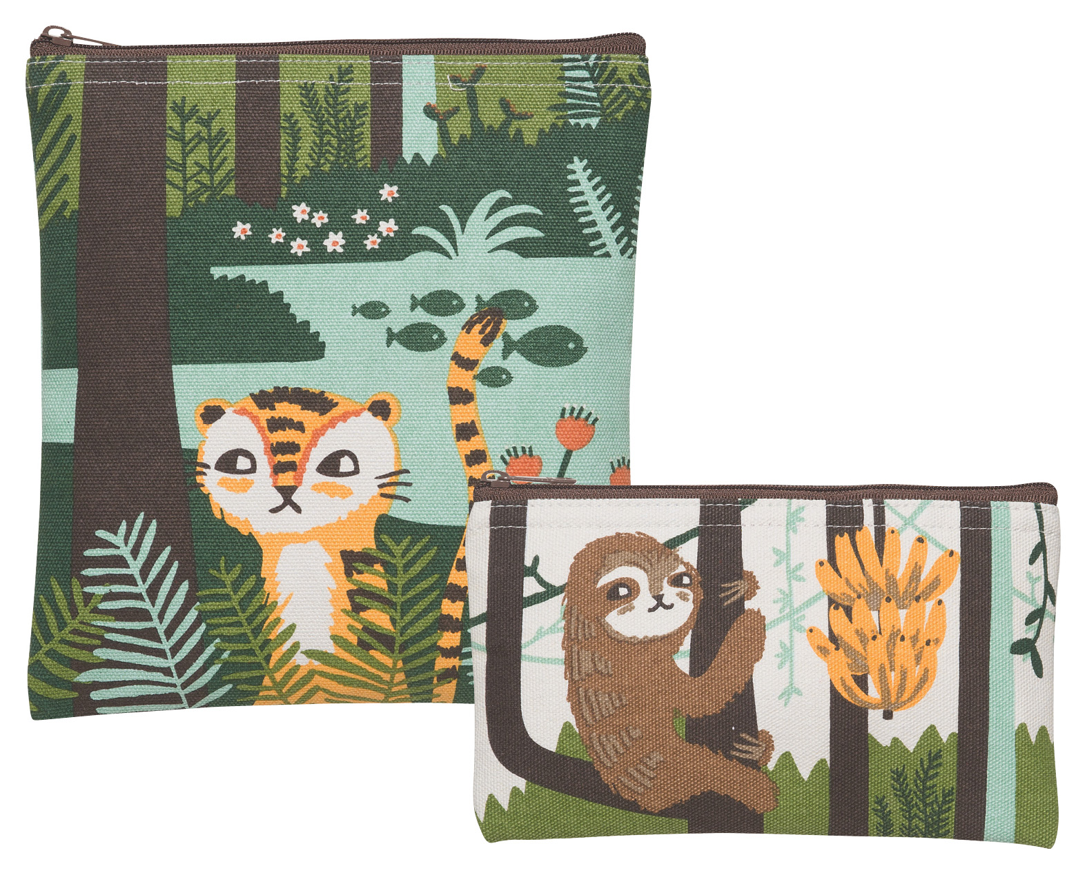 Tropical Treetime Snack Bags <br> Set of 2