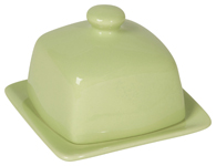 Mint Square Butter Dish