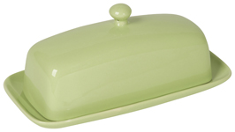 Mint Rectangular Butter Dish