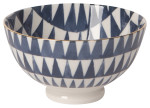 Shibori Bowl Triangles
