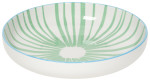 Stamped Shallow Bowl - Jade