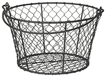 Homestead Basket Black