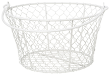 Homestead Basket White