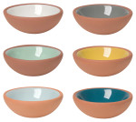 Terracotta Pinch Bowls <br> Set of 6