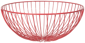 Hemisphere Basket Red