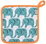 Edgar Elephant Potholder