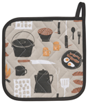 Camp Cookout Potholder