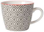 Diamonds Stamped Mug