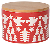 Yuletide Canister Small