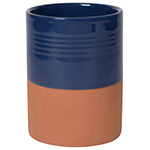 Terracotta Utensil Crock - Navy