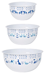 Meadowland Mix and Serve Bowls <br> Set of 3