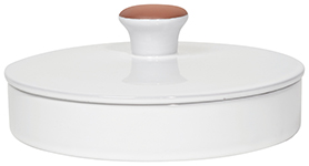 Terracotta Tortilla Warmer White