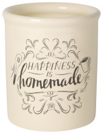 Homemade Happiness Vintage Utensil Crock