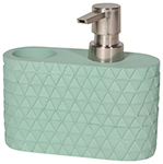 Soap Caddy Concrete Turquoise