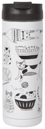 Purr Party Roam Travel Mug