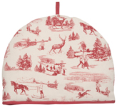 Holiday Toile Tea Cosy