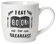 Books For Breakfast Mug