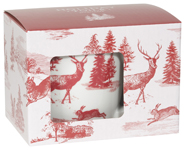 Holiday Toile Mug in a Box