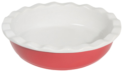 Pie Plate Red