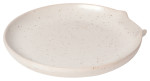 Spoon Rest Reactive Glaze Ivory