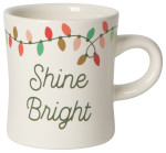 Christmas Lights Diner Mug
