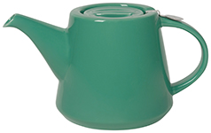 Hi-T Filter Teapot <br>Deep Green 2-Cup