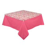Empress Block Prnt Tablecloth <br> 60 x 90 inch